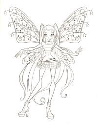 Fairies To Print And Color Fairy