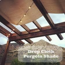 diy patio shade ideas  patio shade ideas diy drop cloth pergola shade