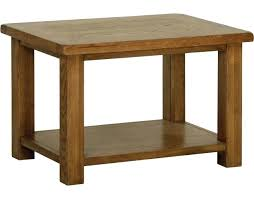 original 4 drawer storage rustic solid oak coffee table rus 18