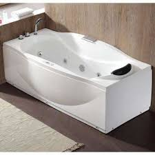 Jetted freestanding tubs Oval Freestanding 71 In Watacct Jettedwhirlpool Freestanding Bathtubs Bathtubs The Home Depot