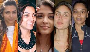did you ever see our bollywood actresses without makeup in their real life