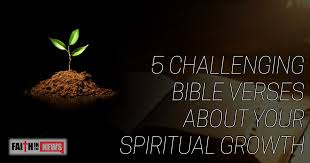 Spiritual Growth Quotes Enchanting 48 Challenging Bible Verses About Your Spiritual Growth Faith In
