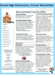 Awesome Examples Of Newsletter Templates Or Best Church Newsletter