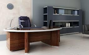 combined office interiors desk. enchanting modern office interior design with dark brown sleek table in wooden materials combined black interiors desk