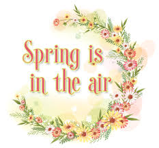 Free Spring Is In The Air Flowers Ebay Template Free Spring