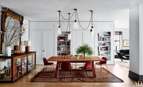 Step Inside  Celebrity Dining Rooms Photos Architectural Digest - House and home dining rooms