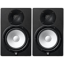 speakers yamaha. yamaha - yamaha hs8 powered studio monitor speakers (black, pair, 230v only)
