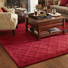 pier one imports red rose rug designs
