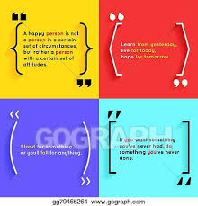 Brackets In Quotes Magnificent Vector Clipart Quotes And Brackets Vector Illustration Gg48