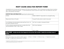 Critical Incident Report Template Serious Incident Report