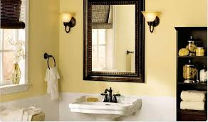 bathroom paint yellow. soft yellow paint color small bathroom