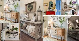 37 amazing entry table ideas to make a