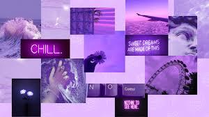 Purple Aesthetic Desktop Wallpapers ...