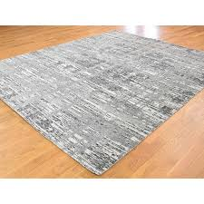 8 2 x10 1 hand knotted undyed natural wool modern grey oriental rug