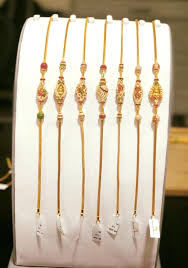 thali chain with side pendant