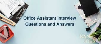 Interview Questions And Answers For Office Assistant Office Assistant Interview Questions And Answers Bangla