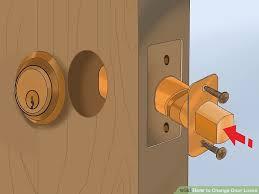 image titled change door locks step 18