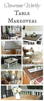 ideas for painted furniture. Table Makeover Ideas! Ideas For Painted Furniture P