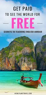 17 best ideas about travel jobs travel ideas how to get a job teaching english overseas