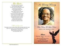 Free Funeral Program Templates Download Classy Memorial Pamphlet Template Cream Floral Funeral Program Memorial