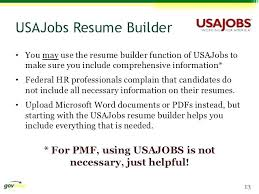Usajobs Sample Resume Beauteous Usajobs Sample Resume Resume For Resume Builder Jobs Format Federal