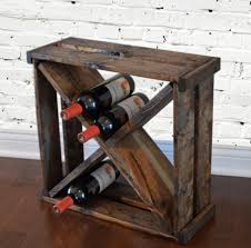 wine holder 25 creative diy project ideas from old crates