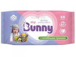 Купить <b>My Bunny</b> Детские с лечебными травами 64шт ...