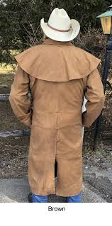 cowboy leather duster