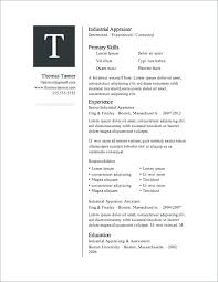 Download Resume Templates For Word Free Word Resume Template