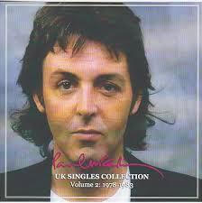 Uk Charts 1983 Paul Mccartney Uk Singles Collection Vol Two 1978 1983