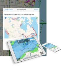 Navlink Ios Navigation App Gets Canada Charts Digital Yacht