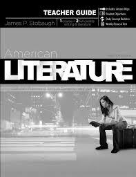 american literature teacher guide