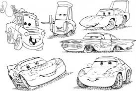 Small Picture Free Disney Cars Coloring Pages For Boys Gianfredanet
