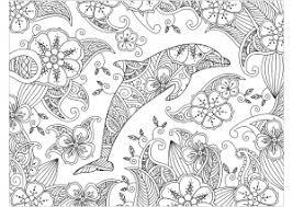 Mandala Delfino Da Stampare Disegni Da Colorare Per Adulti