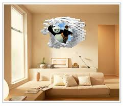 Kung Fu Panda Finding Nemo 3d Wall Sticker Home Décor Wall Decals Stickers  Wallpaper Rolls Removable Art Party Decoration For Kids Room Wall Art Vinyl  ...
