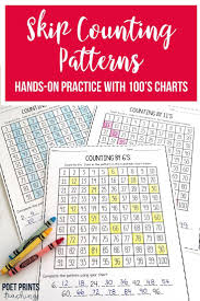 Count By 50 Chart Skip Counting Patterns Skip Counting Skip Counting