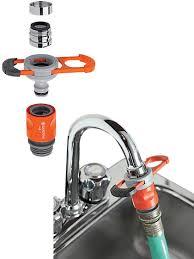 Faucet Adapter For Indoor Taps  Gardener\u0027s Supply