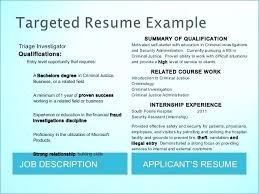 Sample Criminal Justice Resumes Criminal Justice Resume Examples Sample Click Here To Download This