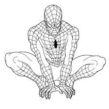 Small Picture Printable Coloring Pages Spiderman Coloring Pages