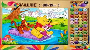 Winnie The Pooh Online Flash Game Winnie Tigger Piglet Color