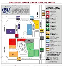 Accessible University Of Phoenix Stadium Parking