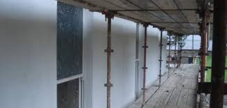 hydraulic lime render external wall insulation