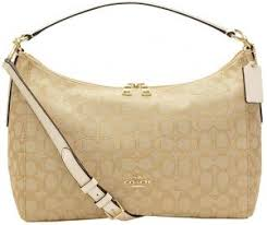 Coach F58284 East West Celeste Convertible Hobo In Outline Signature