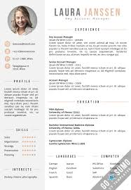English Resume Template Fascinating Cv Template Word English Engneeuforicco