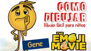 o dibujar emoji gene de la película