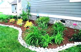 landscaping ideas with rockulch rock mulch home depot garden landscaping ideas landscape edging stone