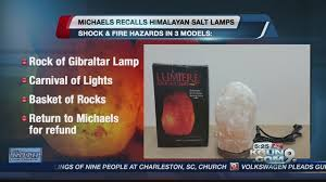 Salt Rock Lamp Recall