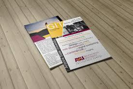 Asu Graphic Design Asu Git Program Brochure On Behance