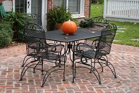 design for the seasons patio furniture wrought iron inside black set ideas 9