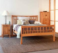 Craftsman bedroom furniture Modern Vermont Woods Studios Contemporary Craftsman Bedroom Furniture Set Vermont Woods Studios